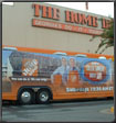 the best vehicle wrap home depot bus wrap