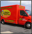 the best vehicle wrap mister sparky truck